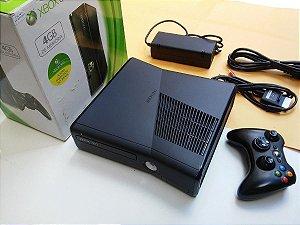 Xbox 360 - Microsoft - Ltu ou RGh com um controle + 5 Brindes (desbloqueado) 110v