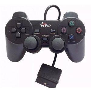 PS2 controle novo dual shock