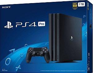 Playstation 4 PRO - 1TB - 4k Ultra HD apartir R$2499 + 1 jogo semi novo de brinde (loja física disponível).ver versões