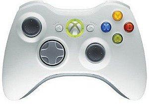 Controle Wireless Para Xbox 360 (alternativo) branco