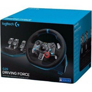 Volante Logitech G29 Driving Force PS4 / PS3 / PC-COM CAMBIO (OeM versão)