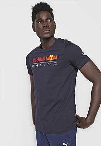 Camiseta Puma Red Bull Racing Azul Marinho