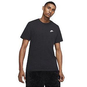 Camiseta Nike Sportswear Club Tee -Preta