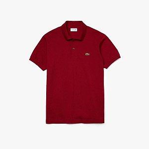 Camisa Polo Lacoste Classic Fit - Bordeaux