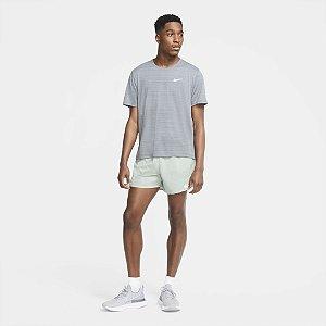 Camiseta Nike Dri Fit Miler Top SS - Cinza