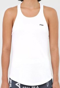 Camiseta Regata Fila Basic Sports - Branca