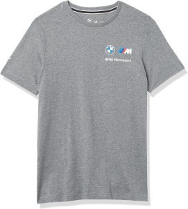 Camiseta Puma Bmw Mms Essential Cinza