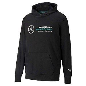 Blusa Moletom Puma Mapf1 Mercedes AMG Petronas - Preta