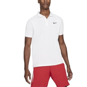 Camisa Polo Nike Court Dri Fit Victory - Branca