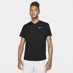 Camiseta Nike Court Dri Fit Victory - Preta