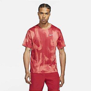 Camiseta Nike Dri Fit Miller Wild Run - Vermelho