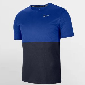 Camiseta Nike Breathe Run Top SS Azul