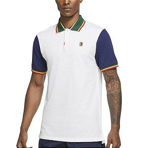 Camiseta Polo Nike Heritage Slim Fit Branca