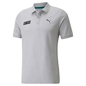 Camisa Polo Puma Mercedes MAPF1 - Cinza
