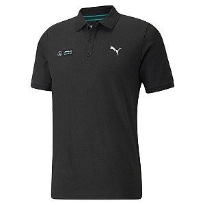 Camisa Polo Puma Mercedes MAPF1 - Preta