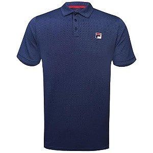 Camisa Polo Fila Action III - Azul Marinho