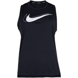 Camiseta Nike Dri Fit Swoosh Run Tank Feminina Preta