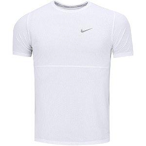 Camiseta Nike Breathe Run Top SS Branca