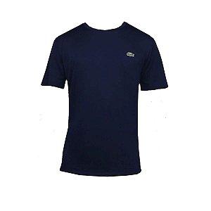 Camiseta Lacoste Sport Gola Redonda - Azul Marinho