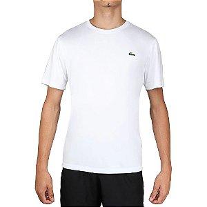Camiseta Lacoste Sport Gola Redonda - Branca