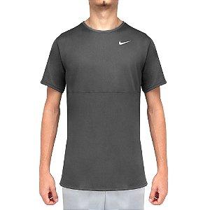 Camiseta Nike Breathe Run SS Top - Cinza