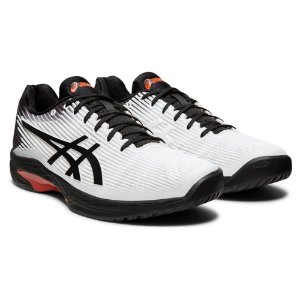 Tênis Asics Gel - Solution Speed FF Branco e Preto