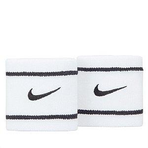 Munhequeira Curta Nike Dri-Fit - Branco e Preto