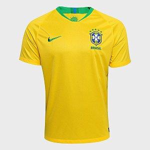 Camiseta Seleção Brasileira CBF 2018 Nike Amarela