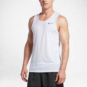 Regata Breathe Rapid Tank Nike Masculino Branca