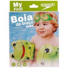Boia De Braço Speedo Verde