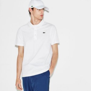 Polo Lacoste Sport Tennis Regular Fit Lisa - Branca