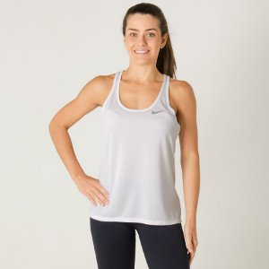 Regata Breathe Rapid Tank Nike Feminina Branca