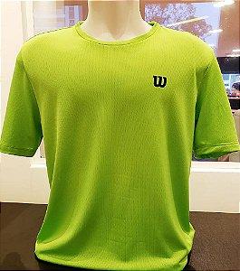 Camiseta Wilson Training Verde Limão Vl - Masculino