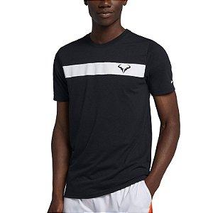 Camiseta Nike Rafa Court Dry Preta