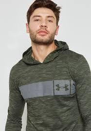 Camiseta Manga Longa Sportstyle Core Hoodie Under Armour Verde