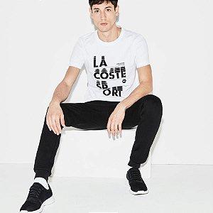 Camiseta Lacoste Sport Com Logo Lacoste Sport - Branca