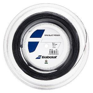 Corda Babolat RPM Blast Rough 1.25mm 17l Preta - Rolo com 200 metros