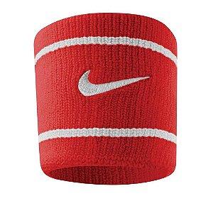 Munhequeira Curta Nike Dri-Fit - Vermelho e Branco