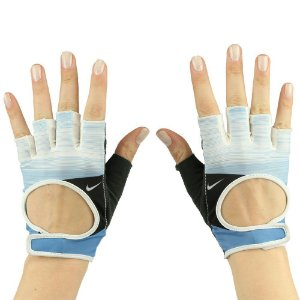 Luva Fitness Nike Womens Fit Cross Training Gloves Azul