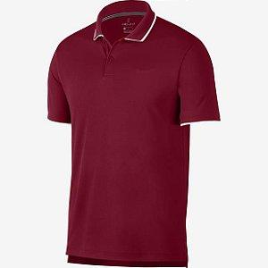 Polo Nike Court Dry Team Vermelha