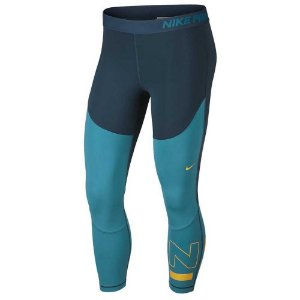 Calça Legging Nike SRF SPT Crop Tight Verde