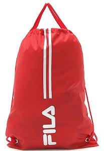 Mochila Saco Fila Gym Training Vermelha