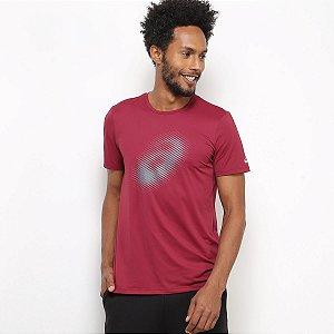 Camiseta Asics Running Logo Masculina - Vermelho