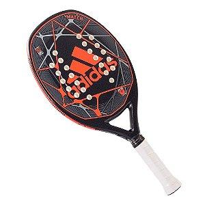 Raquete de Beach Tennis Adidas Match Preta e Laranja