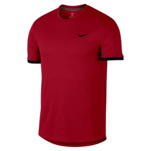 Camiseta Nike Court Dry Tennis Vermelho