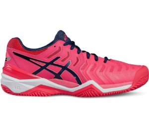 Tenis Asics Gel - Resolution 7 Clay Feminino Rosa