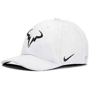 Boné Nike Aerobill H86 Rafa Tennis Branco