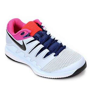 Tênis Nike Air Zoom Vapor 10 HC Branco e Rosa
