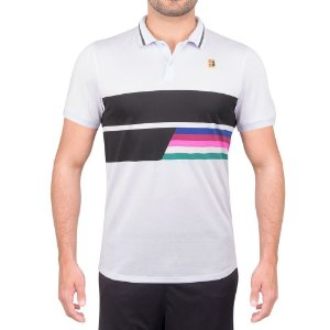 Camisa Polo Nike Court Rafa Advanced Classic Cinza