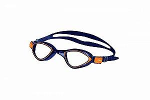 Óculos De Natação Speedo Avatar - Azul/Laranja